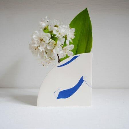 arc-shape-vase-blue-ceramic-pattern-organic