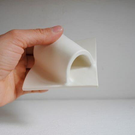 summit-shape-vase-blue-ceramic-handmade-pattern-organic