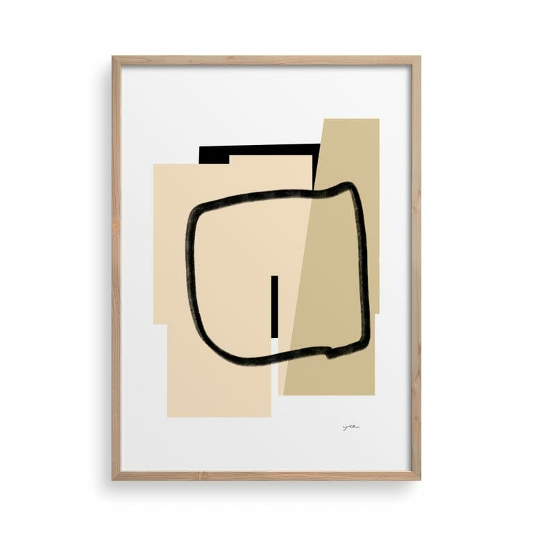 trace-02-art-print-shapes-lines-drawing-abstract-beige-cream-artwork