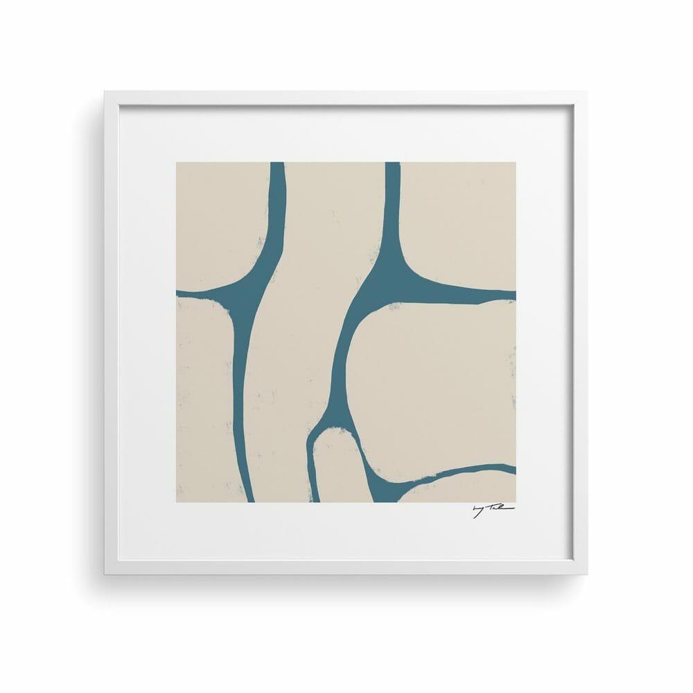 winter-lakes-art-print-organic-shapes-blue-cream-artwork