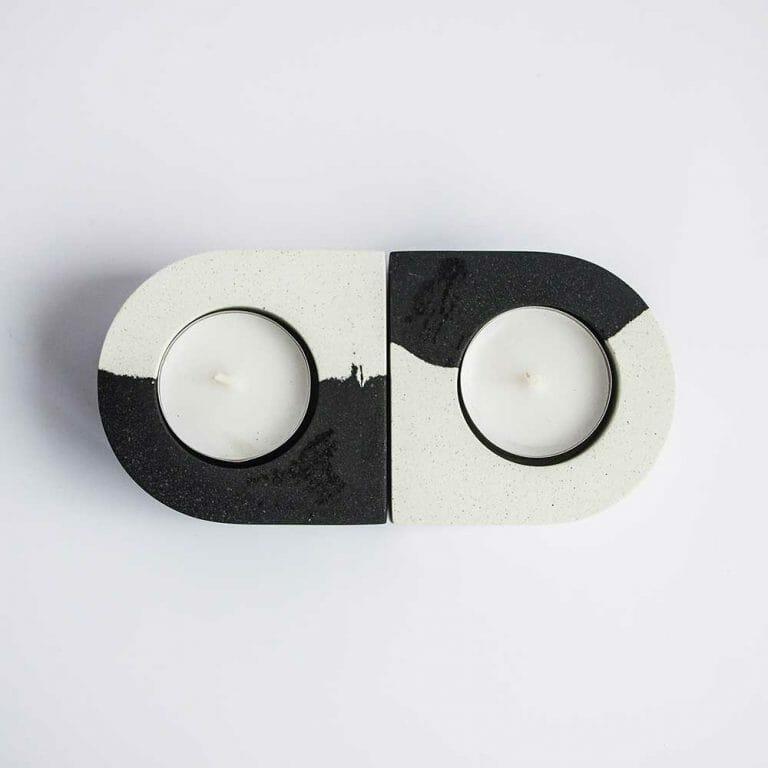 set-of-tealight-holders-monochrome