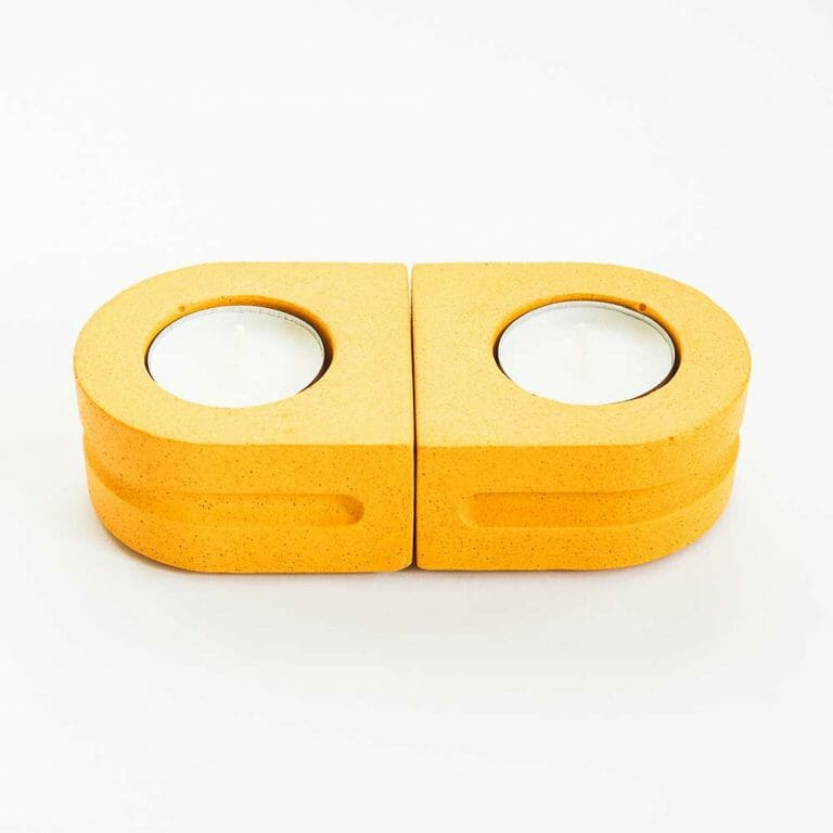 set-of-2-tealight-holders-yellow