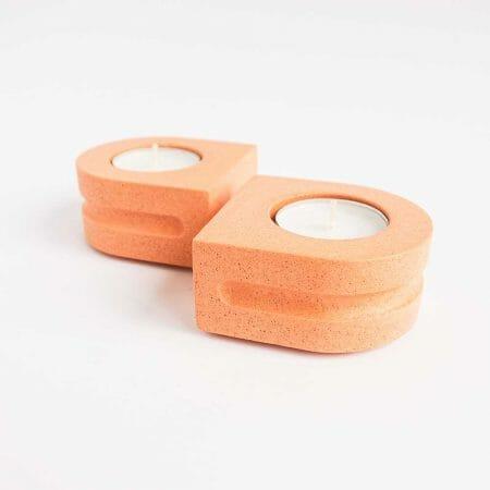 set-of-2-tealight-holders-peach