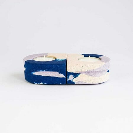 set-of-2-tealight-holders-splodge-cobalt