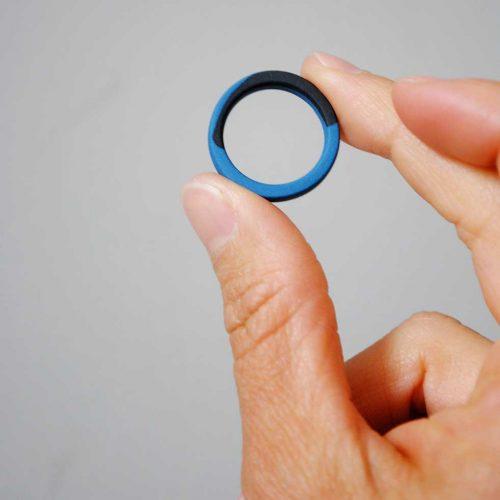 porcelain-ring-teal-black-and-cobalt-blue
