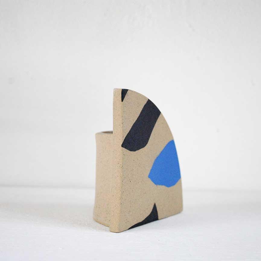 arc-vase-blue-and-black-ceramic